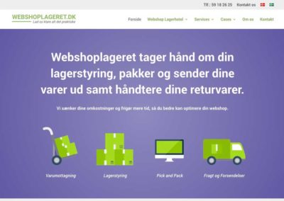 Webshoplageret