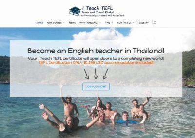 I teach TEFL