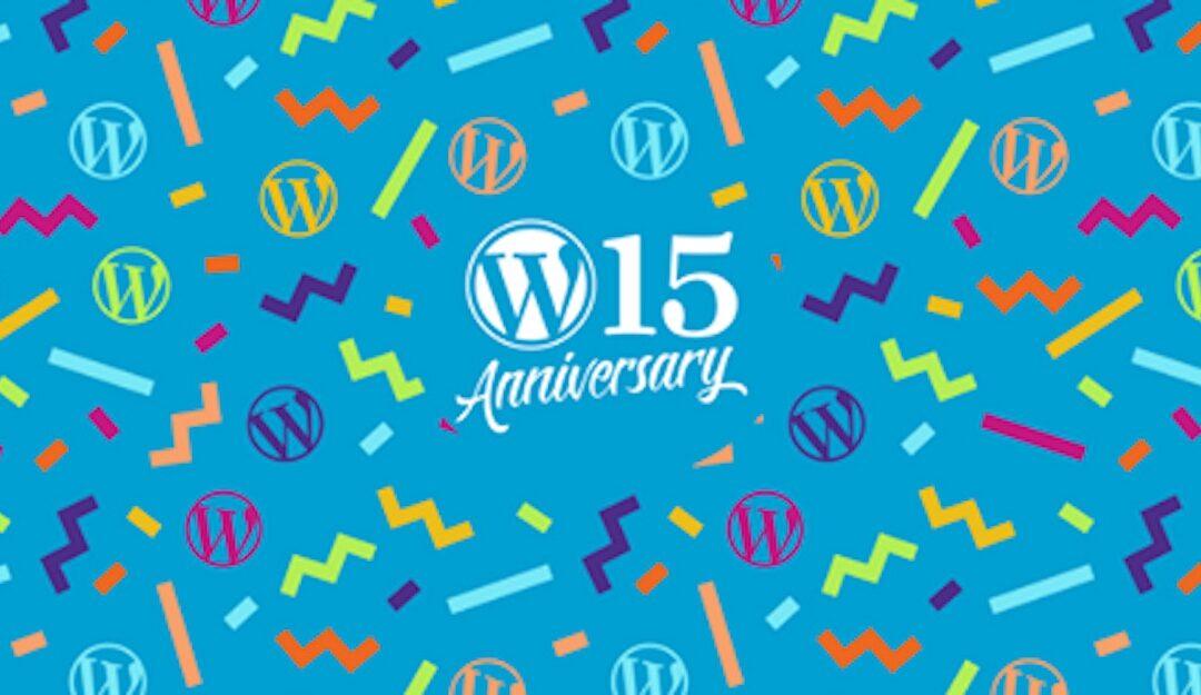 Grattis WordPress!