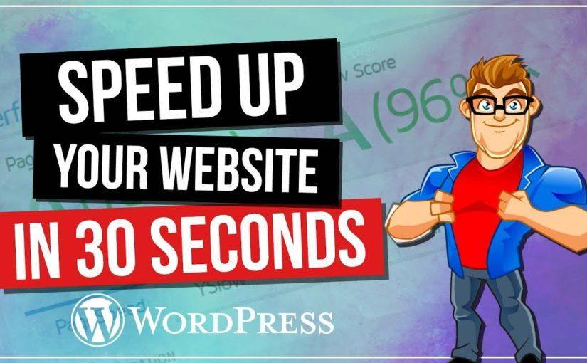 Snabba upp din hemsida