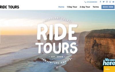 Ridetours fick ny sajt