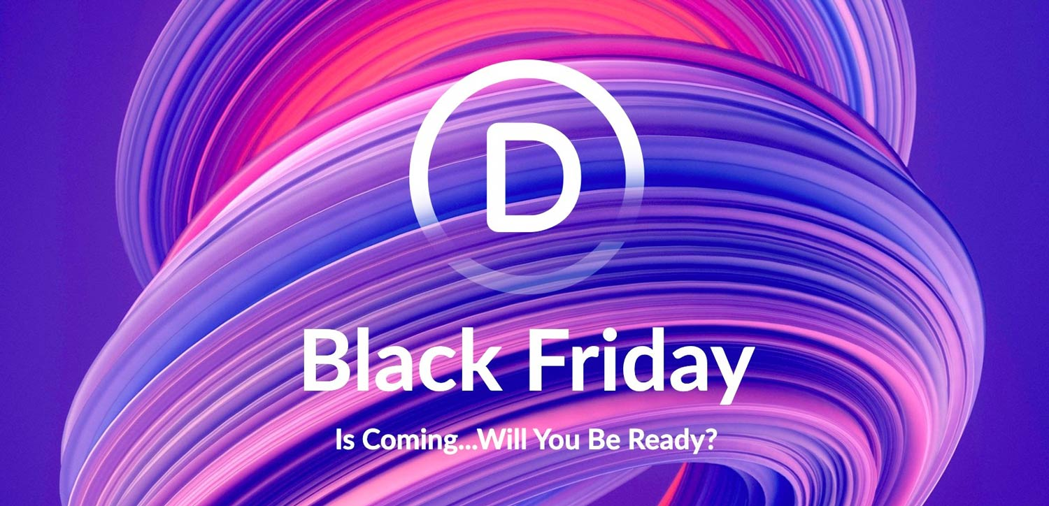 Divi Black Friday kommer snart