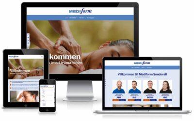 Mediform fick ny webbsida
